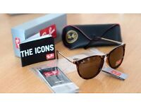 FREE DELIVERY TODAY! RAYBANS LADIES TURTLE SHELL SUNGLASSES JOBLOT WHOLESALE