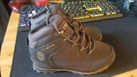 Firetrap Rhino Childrens Boots - Brown - size 11 - Brand new