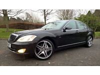 FOR SALE 59 REG MERCEDES BENZ 320CDI S CLASS FINISHED IN GLEAMING BLACK