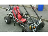125 semi auto buggy with mot
