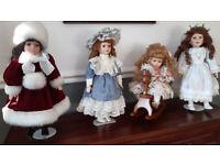 Leonardo collectors porcelain dolls.
