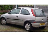Vauxhall Corsa SPARES & REPAIRS