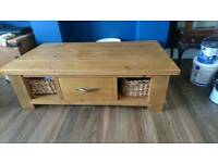 Next Hartford Solid Wood Coffee Table with Storage