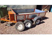 Car Box Trailer 7ft x 4ft 2150mm x 1200mm Home made very good condition