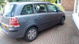 Vauxhall zafira 1.9 cdti fsh well maintained nice family car