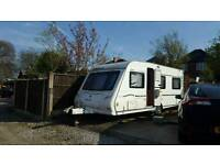 2007 Mendip Magnum 544 Limited Edition Caravan with full awning