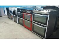 Gas / Electric / Dual Fuel Cookers 50cm 55cm 60cm All Sizes