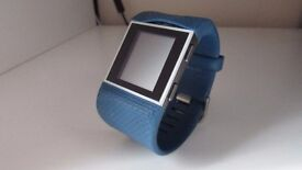 Damaged Fitbit Surge Blue Small