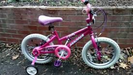 cutie pie girls bike