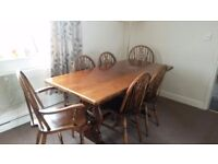Solid Oak Table - NO chairs sorry!