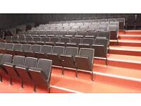 Lecture theater folding seats