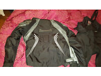 Selling woman's bike jacket, trousers and Sidi boots