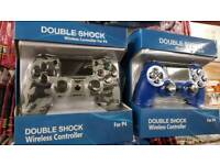 Doubleshock Wireless P4 controllers compatible with ps4 game pad joy stick