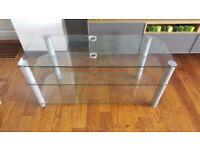 "Glass TV Stand for 50"" Plasma TV"