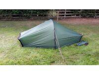 Hilleberg Akto: 1 man mountaineering/backpacking tent