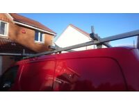 Nissan Nv200 roof rack with roller.