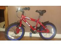"Spiderman Kids Bike - 14"" Wheels"