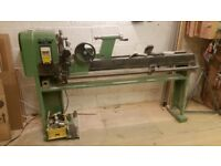 MiniMax T/124 Wood Turning Lathe and precision turning Copier. Copy length 1100mm 4 speeds