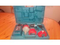 Makita 6280D Cordless drill/driver 14.4v 2 speed, 3 batt/charger in box, good condition,see detail
