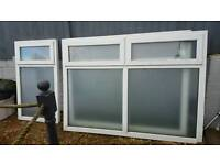 Double glazed pvc windows for sale out of conservatory