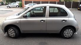 NISSAN MICRA 2004 SILVER VERY LOW MILAGE £900 ONO
