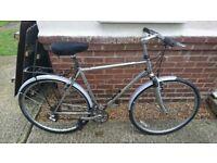 Nice bike raleigh pioneer trail chrome edition £60