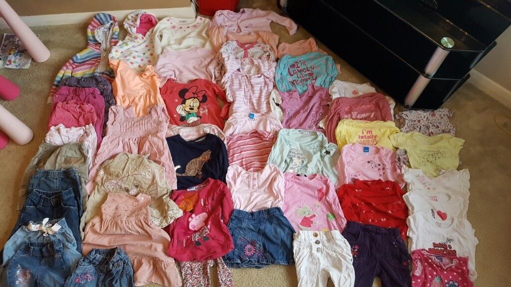 7009e60217eb Large bundle of 18-24 months girls winter clothes