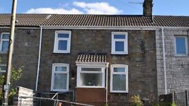 Large 2/3 Bed House for Rent in Cardiff Rd, Aberaman. Aberdare. Fully refurbished. With Gardren