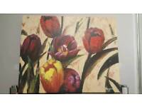 Tulip Canvas/Painting by Vargas