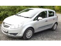 2007 Vauxhall Corsa 1.0, 5 door, excellent condition,