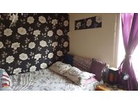 Two bedroom 2 bed house. Below average house. BURNLEY BB10 1PU. Part Furnished washing machine..