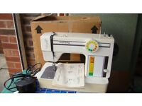 Toyota Sewing machine. Brand new in box ,never used. Would make a lovely gift.