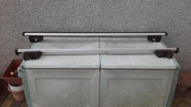 ford Galaxy locking roof bars with key, fit galaxy up to 2005 plate