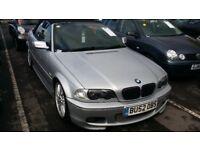 BMW 325 CI CONVERTIBLE M SPORT SAT NAV MOT HPI CLEAR E 46