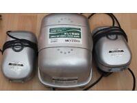 Hailea Aco-9810 Premium Low Noise 6 Way Air Pump,2 ACO 9602/ 430 Ltrs/hr 2 OUTLET HAILEA AIR PUMP