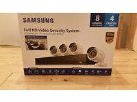 Samsung full HD security system