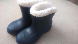 Kids navy snow boots Decathlon Quechua UK 3 (EU 36/37)