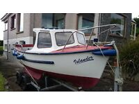 PLYMOUTH PILOT 19, INBOARD DIESEL, TRAILER, READY TO GO £6590