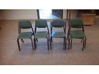 10 childrens ex school chairs