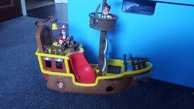 Jake and never land pirates ship