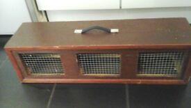 Triple Bird Carrier/ Travel Box