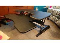 Varidesk 30 Sit Stand desk converter Standing desk