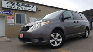2012 Toyota Sienna NO HST 1 WEEK ONLY- LE-DUAL AIR/HEAT-ALLOY WH