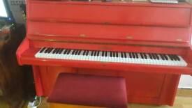 Bentley piano hand painted