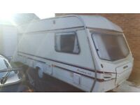 Retro 4 berth caravan for sale. Good condition; all facilities in working order