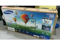 "Samsung 40 "" LED 3D Tv"