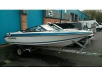 Sunbird Corsair speed boat 19ft
