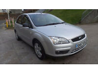 FORD FOCUS 1.6 STYLE TDCI 5d 107 BHP MOT JANUARY 2018 (silver) 2007