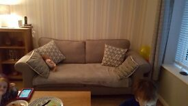 Grey sofa... pristine condition