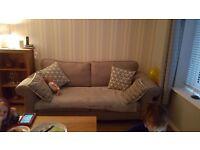 Grey sofa... pristine condition